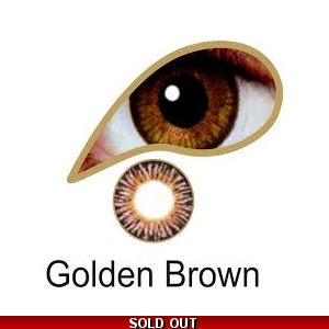 Golden Brown Contact Lenses 3 Months